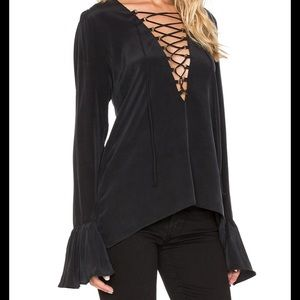 Stone Cold Fox Powell Top, Size 1